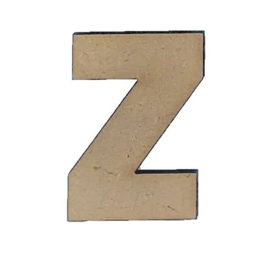 Foundations Decor: Wood Letters Z