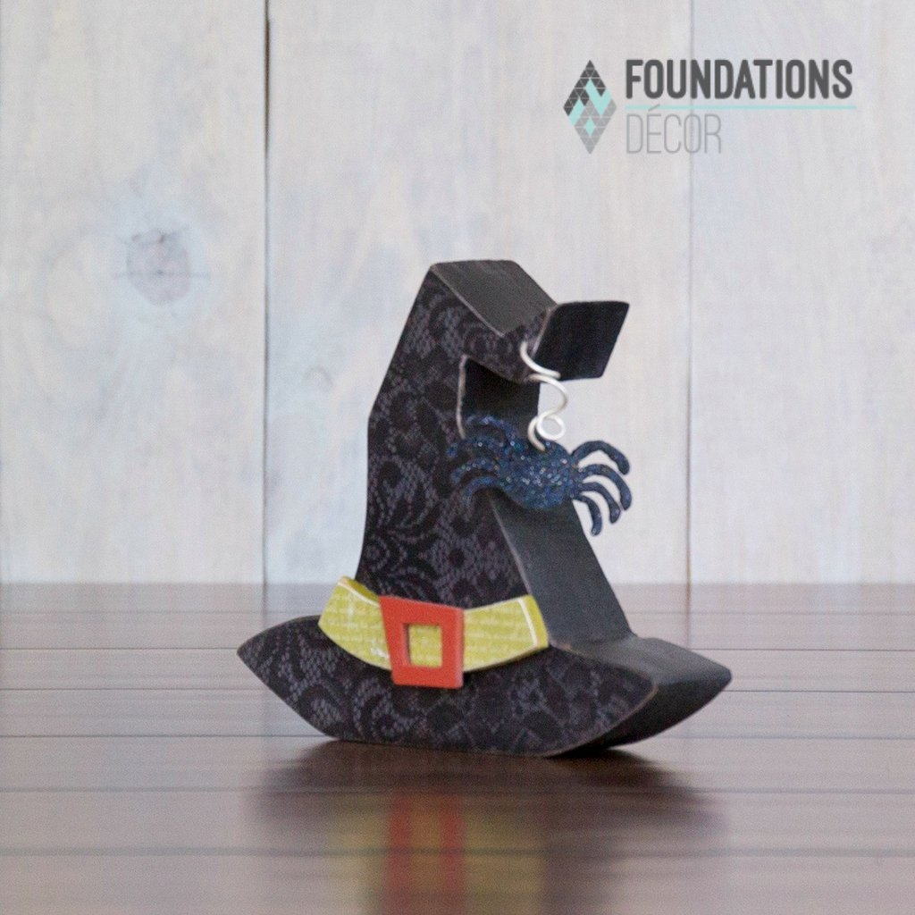 FOUNDATIONS: Witch Hat With Spider