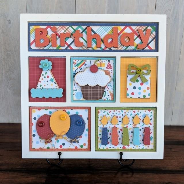 FOUNDATIONS: Shadow Box Kit Birthday