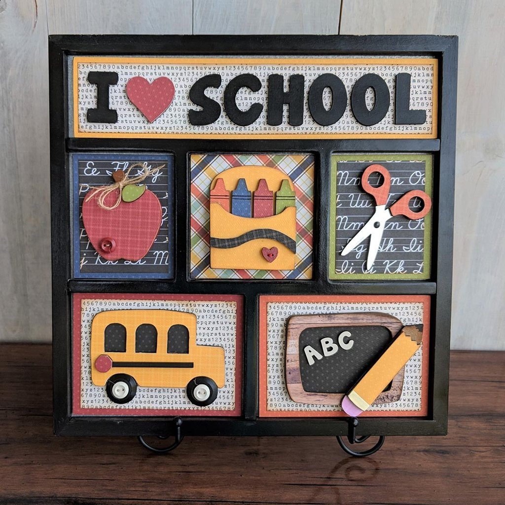 Foundations Decor Shadow Box Kit School