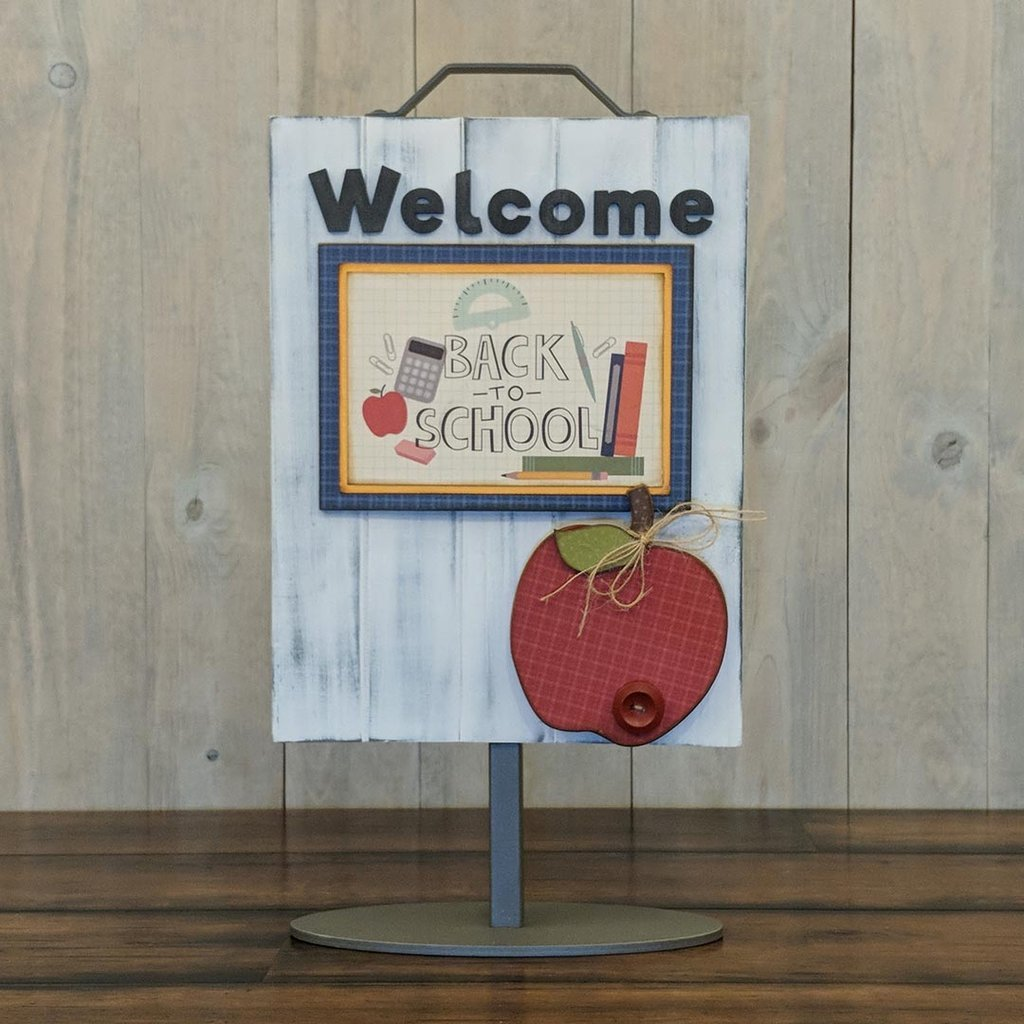 Foundations Decor Welcome Sign Kits September - Apple