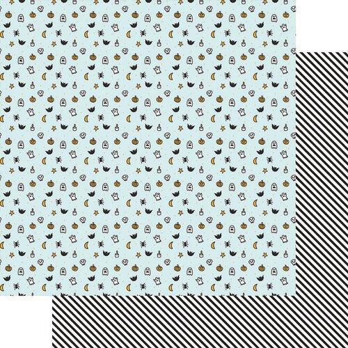 FD Fancy Pants Howl Double-Sided Paper 12x12  - Little Monsters