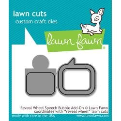 Lawn Cuts Custom Craft Die Reveal Wheel Speech Bubble