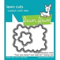 Lawn Cuts Custom Craft Die How You Bean? Stars
