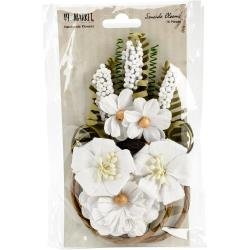 49 And Market Seaside Blooms 16/Pkg Cotton