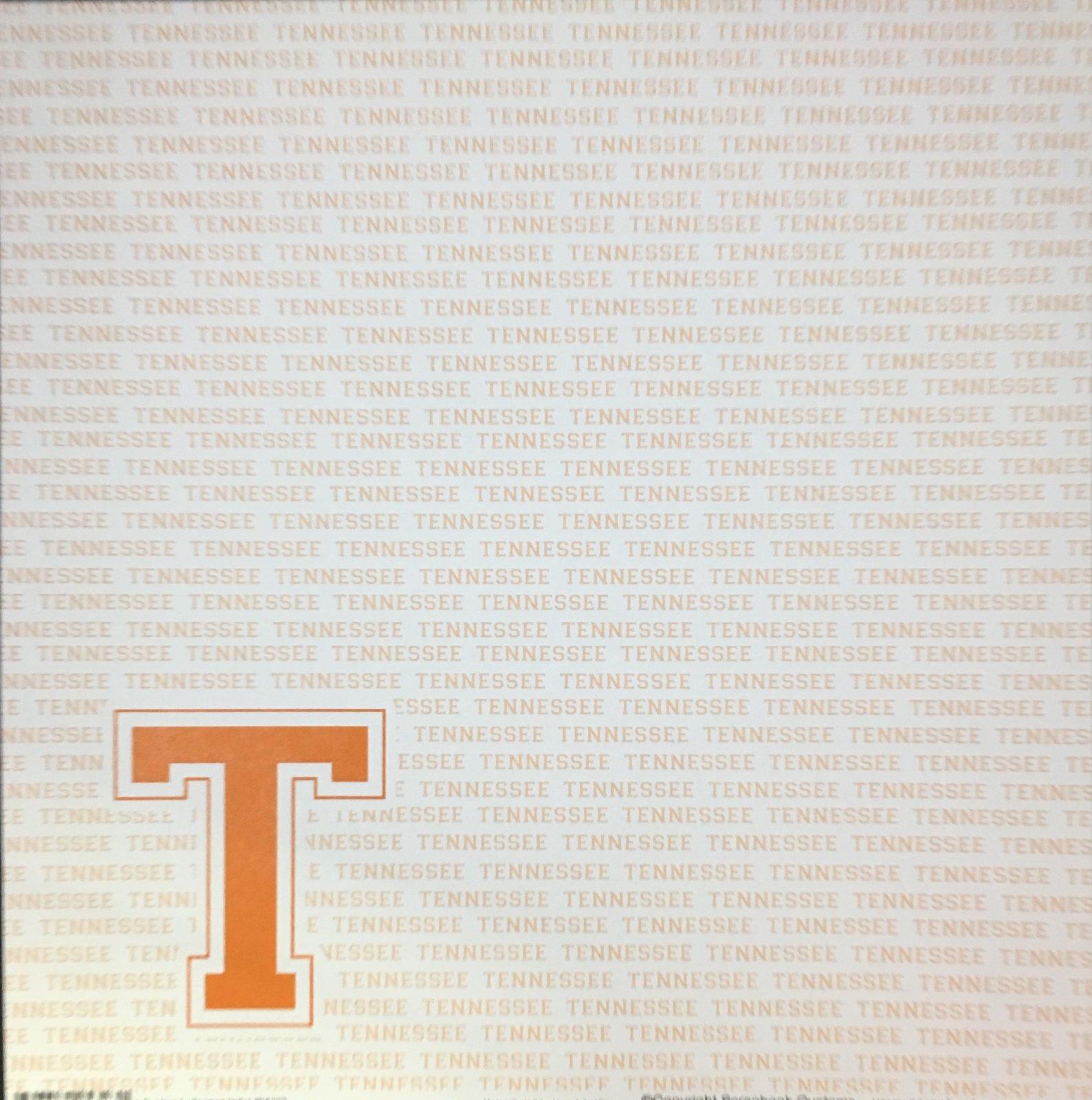 Scrapbook Customs: Tennessee T 12x12
