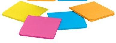Post-It Super Sticky Full Adhesive Notes 3X3 Rio De Janiero (1 pad of 30 sheets)