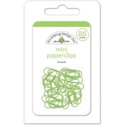 Doodlebug Mini Paperclips 25/Pkg Limeade