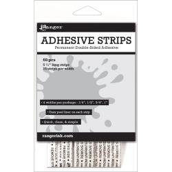 RANGER Adhesive Strips 5.25 60/Pkg .25, .5, .75 & 1