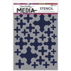 Dina Wakley Media Stencils 9X6 Medieval Crosses