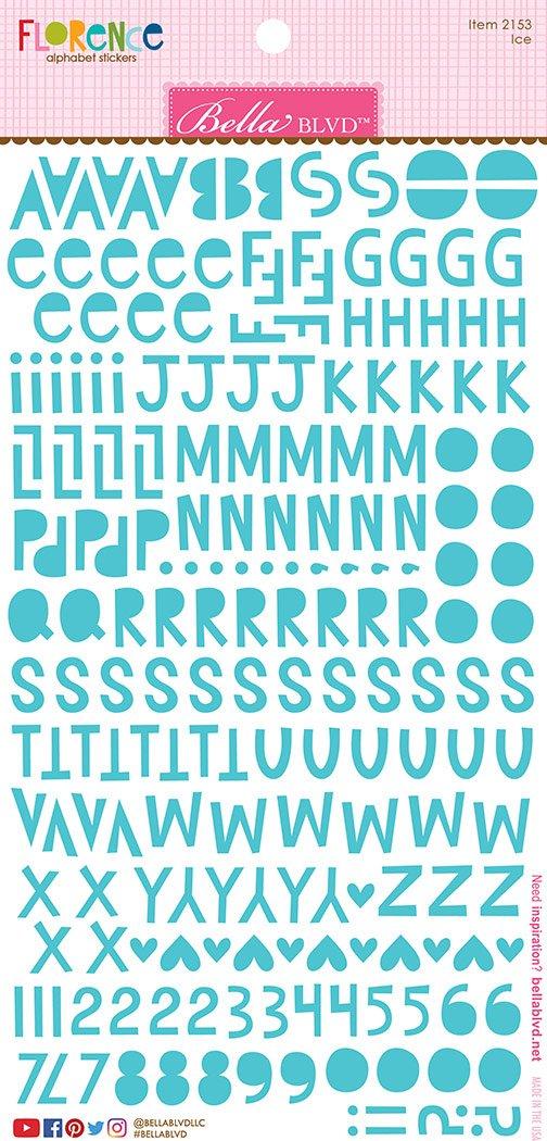 Bella Blvd Ice Florence Alphabet Stickers
