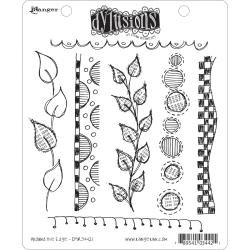 Dyan Reaveley's Dylusions Cling Stamp Collections 8.5X7: Around The Edge