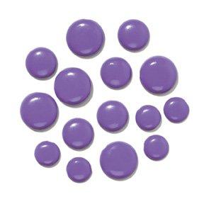 Doodlebug Chunky Brads 1/4 -25/Pkg Lilac