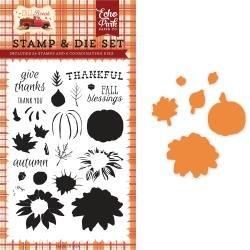 Carte Bella Die & Stamp Combo Set Thankful