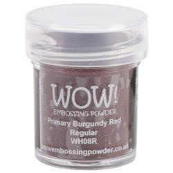 WOW! Embossing Powder 15ml Primary Burgundy Red