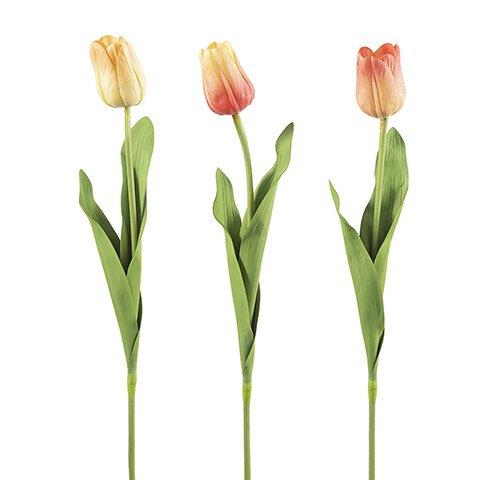 Darice Tulip Longstem: 3 x 26 inches, 3 Assorted Colors