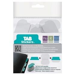 We R Tab Stickers 12/Pkg File, 2