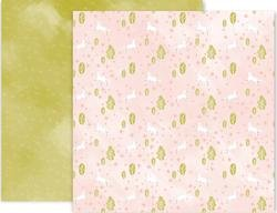Pink Paislee Little Adventurer Double Sided Cardstock 12x12 #5