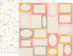 Pink Paislee Little Adventurer Double Sided Cardstock 12x12 #6