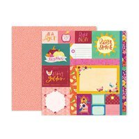 PP Paige Evans Truly Grateful Double-Sided Cardstock 12X12 #1