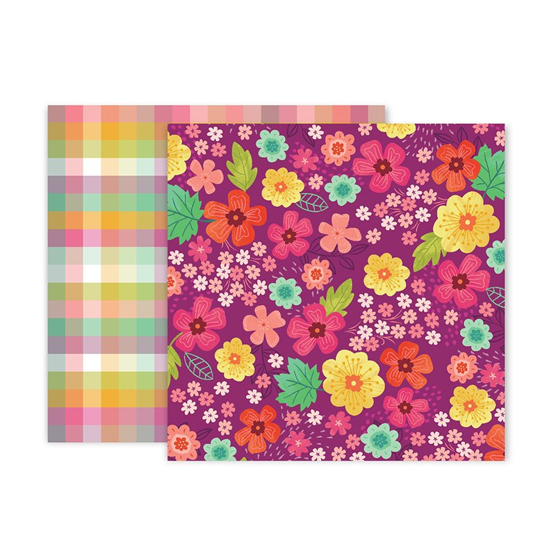 PP Paige Evans Truly Grateful Double-Sided Cardstock 12X12 #2