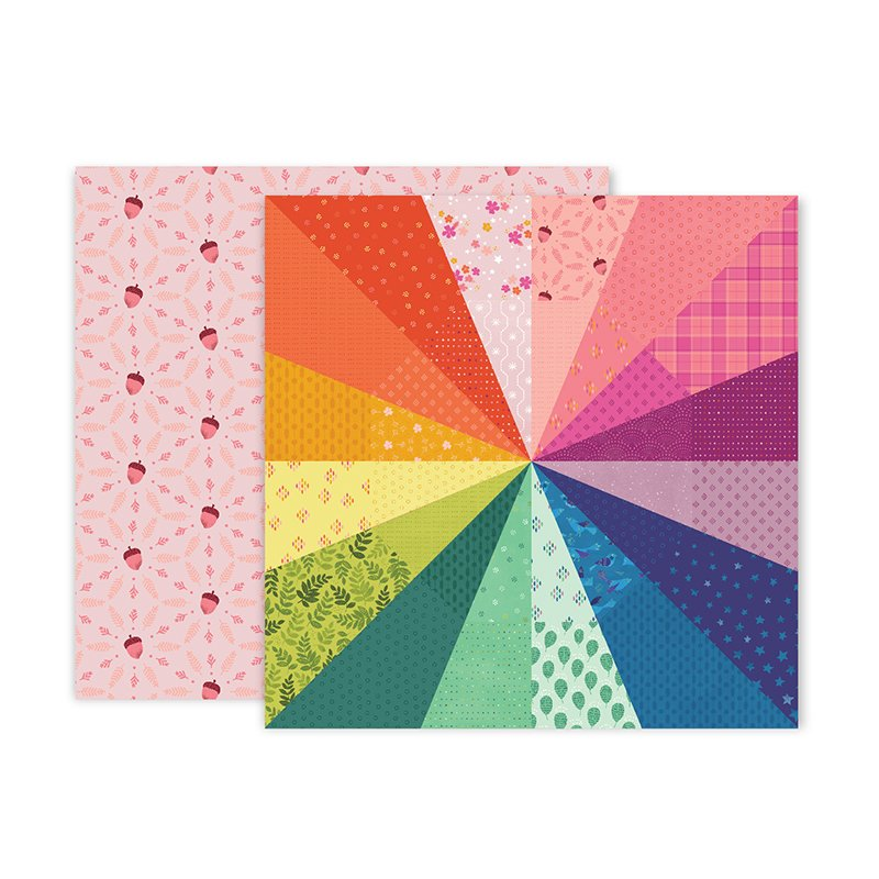 PP Paige Evans Truly Grateful Double-Sided Cardstock 12X12 #8