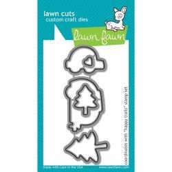 Lawn Cuts Custom Craft Die Happy Trails