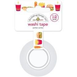 Doodlebug Washi Tape 15mmx12yd Perfect Combo