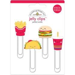 Doodlebug Jelly Clips 4/Pkg Perfect Combo