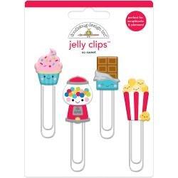 Doodlebug Jelly Clips 4/Pkg So Sweet
