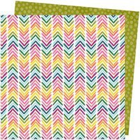 AC AT Slice of LIfe Double-Sided Cardstock 12X12 Onward and Upward