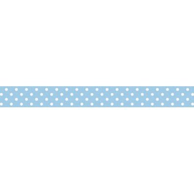 Doodlebug Washi Tape 15mmX12yd Bubble Blue Swiss Dot