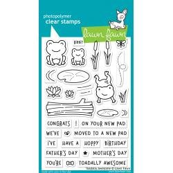 Lawn Fawn Clear Stamps 4X6 Toadally Awesome