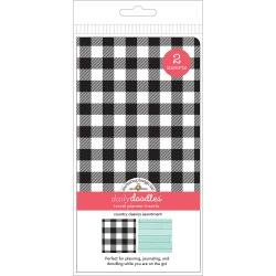 Doodlebug Planner Inserts 2/Pkg Country Classics Grid & Dot Grid