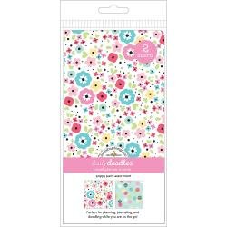 Doodlebug Planner Inserts 2/Pkg Poppy Party Grid & Dot Grid
