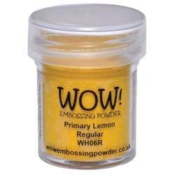 WOW! Embossing Powder 15ml Lemon