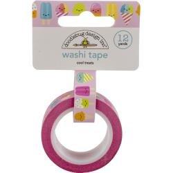 Doodlebug Washi Tape 15mmx12yd Cool Treats