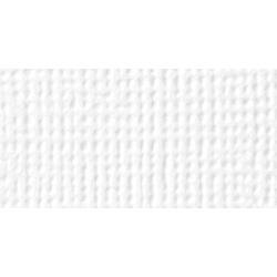 AC Textured Cardstock Pack 12X12 60/Pkg Solid White