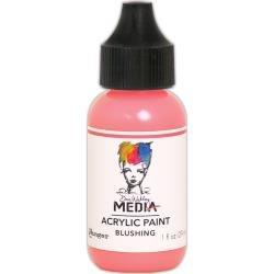 Dina Wakley Media Acrylic Paint 1oz Blushing