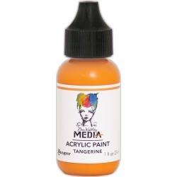 Dina Wakley Media Acrylic Paint 1oz Tangerine