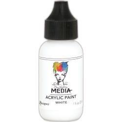 Dina Wakley Media Acrylic Paint 1oz White