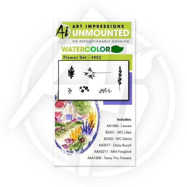 Art Impressions WC Flower Set 1