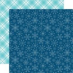 Echo Park Celebrate Winter Double-Sided Cardstock 12X12 Snowflake Kisses