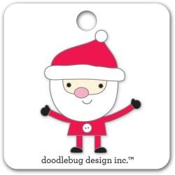 Doodlebug Collectible Enamel Pin Santa