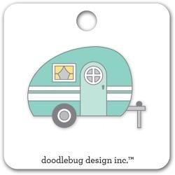 Doodlebug Collectible Enamel Pin Glamper