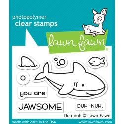 LAWN FAWN STAMP: Duh-nuh