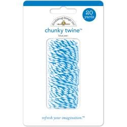 Doodlebug Monochromatic Chunky Twine 20yd Blue Jean