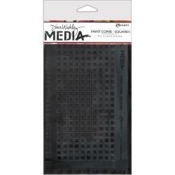 Dina Wakley Media Large Paint Combs 8.5X4.75 Squares