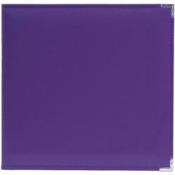 We R Classic Leather D-Ring Album 12X12 Grape Soda