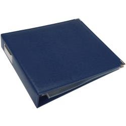 We R Classic Leather D-Ring Album 12X12 Cobalt